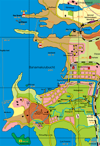Stadtplan Entenhausen